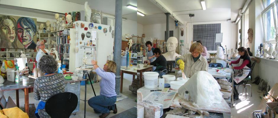 Atelier für plastisches Gestalten